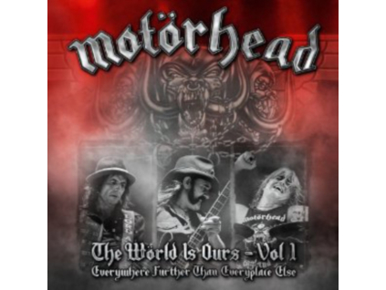 MOTORHEAD - The Wörld Is Ours - Vol 1 Everywhere Further Than Everyplace Else (Blu-ray + CD)
