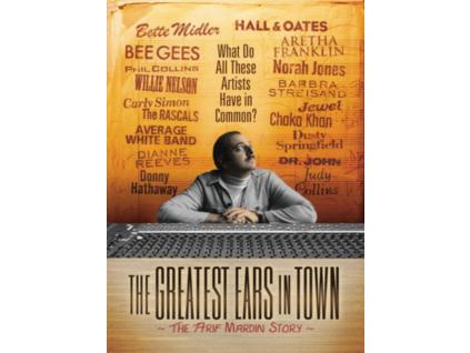 JOE MARDIN & DOUG BIRD - The Greatest Ears In Town: The Arif Mardin Story (DVD)