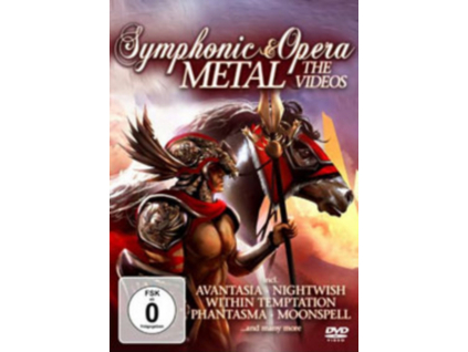 VARIOUS ARTISTS - Symphonic & Opera Metal - The Videos (DVD)
