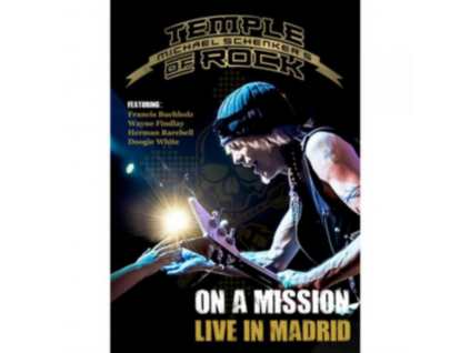 MICHAEL SCHENKERS TEMPLE OF ROCK - On A Mission - Live In Madrid (DVD)