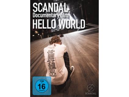 SCANDAL - Dcoumentary Film - Hello World (DVD)
