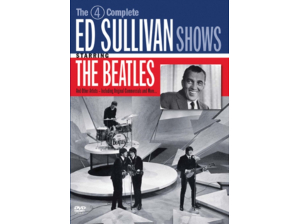 BEATLES - 4 Complete Ed Sullivan Shows (DVD)