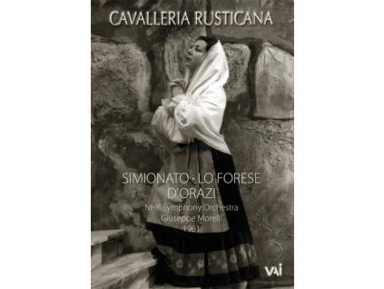 GIULIETTA SIMIONATO - Mascagnicavalleria Rusticana (DVD)