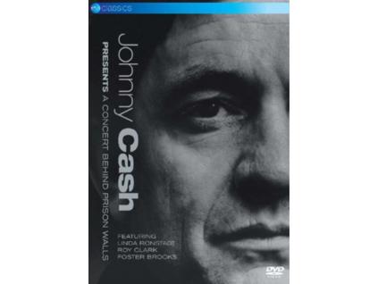 JOHNNY CASH - Presents... A Concert Behind Prison Walls (DVD)
