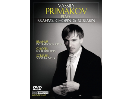 VASSILY PRIMAKOV - Brahmschopinscriabin (DVD)