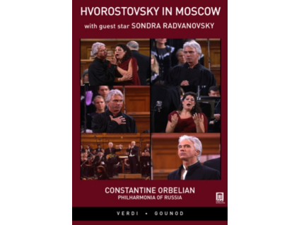 HVOROSTOVSKYRADVANOVSKY - Hvorostovsky In Moscow (DVD)