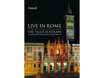 TALLIS SCHOLARS - Live In Rome (DVD)
