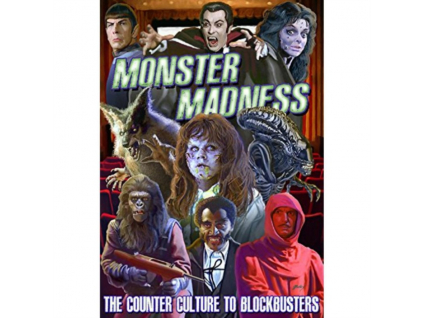 VARIOUS ARTISTS - Monster Madness: The Counter Culture To Blockbusters (DVD)