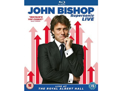 John Bishop  Supersonic Live At The Royal Albert Hall (Blu-ray)