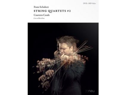 CUARTETO CASALS - Schubert: String Quartets # 2 (DVD)