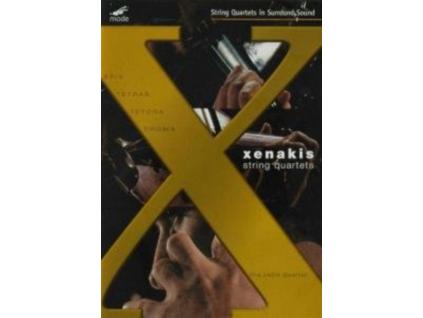 IANNIS XENAKIS - String Quartets - The Jack Quartet (DVD)