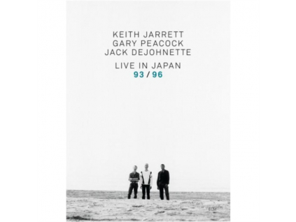 JARRETT / PEACOCK / DE JOHNETTE - Live In Japan 93/96 (DVD)