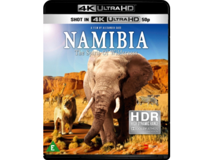 Namibia - The Spirit Of Wilderness (Blu-ray 4K)