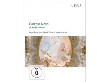 ANNA SPINA / BENOIT PICCAND - Giorgio Netti (1963): Ciclo Del Ritorno For Viola Solo (DVD)