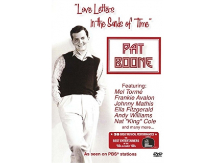 PAT BOONE - Love Letters In The Sands Of Time (DVD)