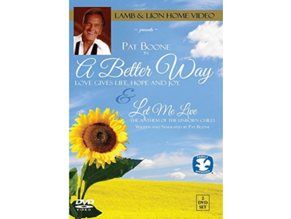 PAT BOONE - A Better Way  Let Me Live (DVD)