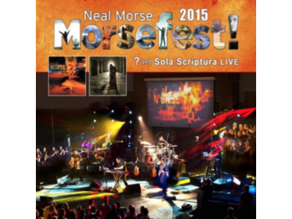 NEAL MORSE - Morsefest 2015 Sola Scriptural And  Live (Blu-ray)