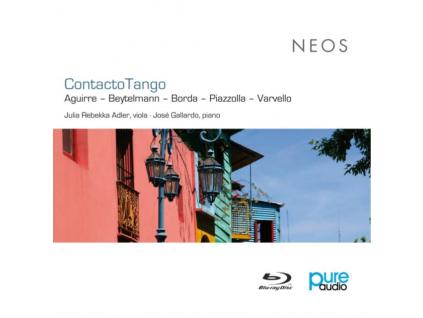 ADLER JULIA REBEKKA - Contacto Tango (Blu-ray)
