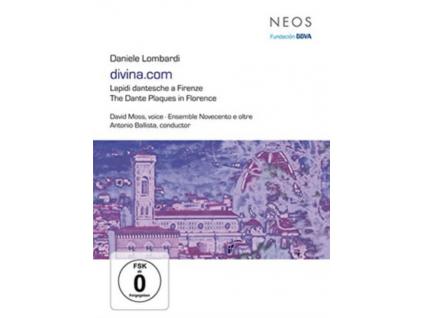 DAVID MOSS ENSEMBLE NOVECENTO E OLTRE DANIELE LOMBARDI - Daniele Lombardi Divinacom Lapidi Dantesche A Firenze (DVD)