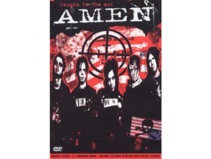 AMEN - Caught In The Act (DVD)