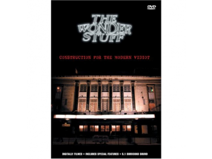 WONDER STUFF - Construction For The Modern Vi (DVD)