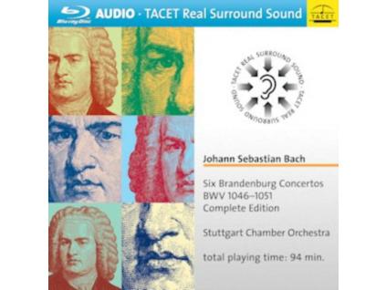 STUTTGART CHAMBER CHOIR - Six Brandenburg Concertos (Blu-ray)