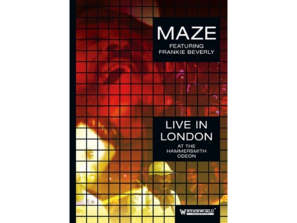 MAZE - Live In London - At The Hammersmith Odeon (Feat. Frankie Beverly) (DVD)