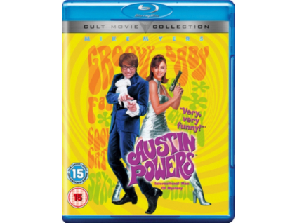 Austin Powers  International Man Of Mystery  Steel Book (Blu-ray)