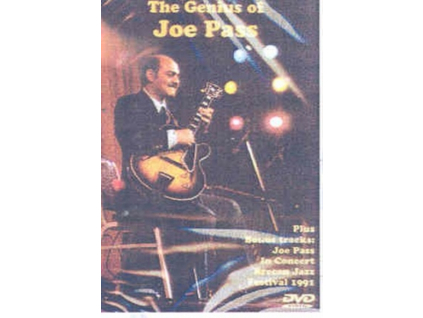 JOE PASS - Genius Of Joe Pass The (DVD)