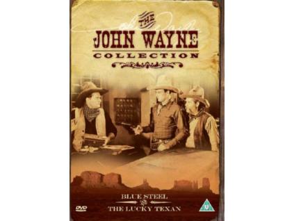 Blue Steel And Lucky Texan (DVD)