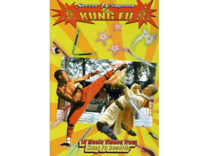 VARIOUS ARTISTS - Secret Weapons Of Kung Fu (DVD)
