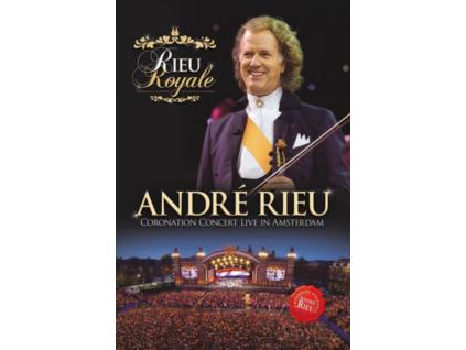 ANDRE RIEU & HIS JOHANN STRAUSS ORCHESTRA - Rieu Royale Coronation Concert Live (DVD)