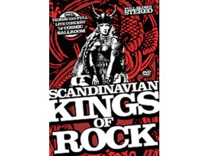 VARIOUS ARTISTS - Scandinavian Kings Of Rock (DVD)