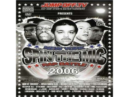 JUMPOFFTV - Spin The Mic  Rap Battle 2006 (DVD)
