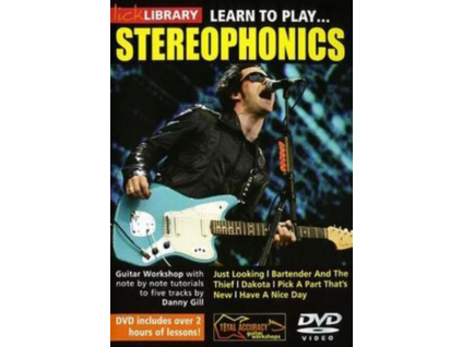 DANNY GILL - Learn To Play  Stereophonics (DVD)