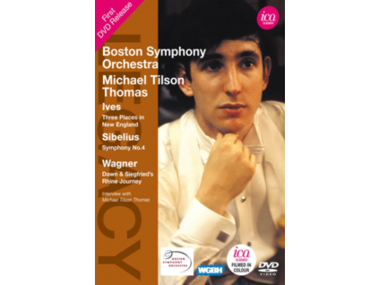 MICHAEL TILSON THOMAS - Ives  Sibelius  Wagner Three (DVD)