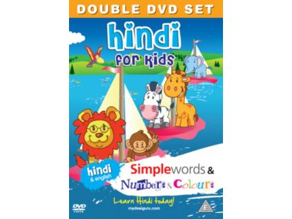 Hindifor Kids Simple Wordsnumberscol Nt (DVD)