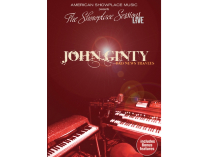 JOHN GINTY - Bad News Travels Live (DVD)