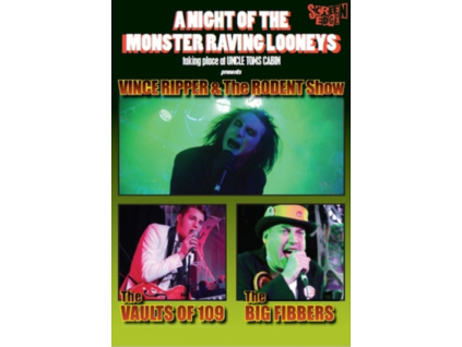 VARIOUS ARTISTS - A Night Of The Monster Raving Looneys (DVD)