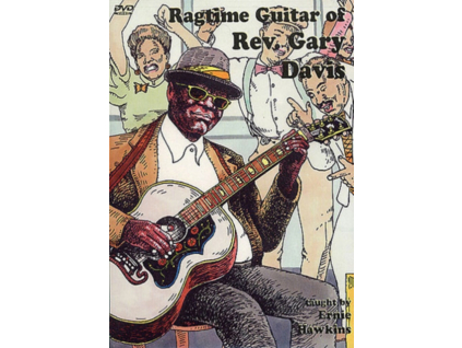 REV GARY DAVIS - Ragtime Guitar 2 Discs (DVD)