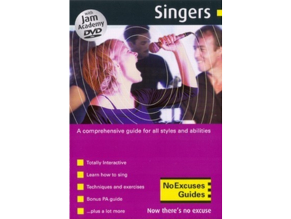 VARIOUS ARTISTS - Jam Academy  Singers (DVD)