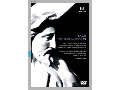 CHOR DES BR & DIJKSTRA - Bachst Matthew Passion (DVD)