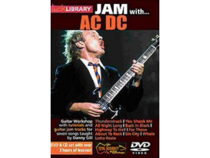 Lick Library  Jam With Ac  Dc 2 Dvd  Cd Set (DVD + CD)