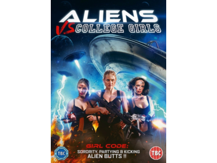 Aliens Vs College Girls (DVD)