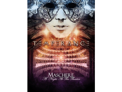 TEMPERANCE - Maschere - A Night At The Theater (DVD)