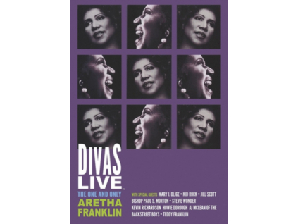 ARETHA FRANKLIN - Divas Live - The One And Only Aretha Franklin (DVD)