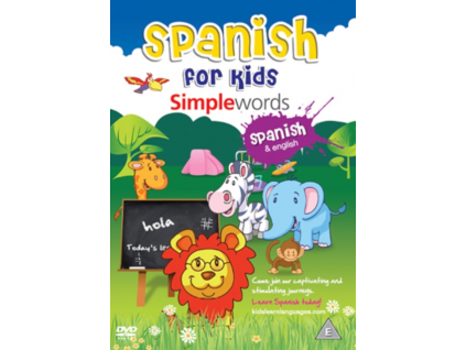 Spanish For Kids: Simple Words (DVD)