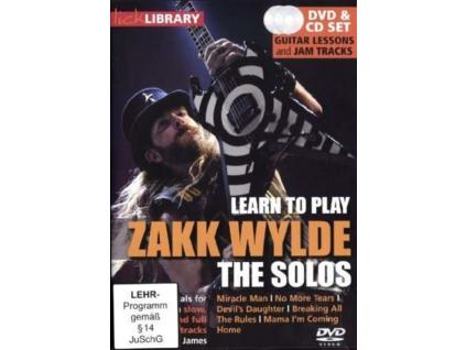 Lick Library Learn To Play Zakk Wylde Th (DVD)