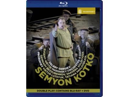 MARIINSKY OR/GERGIEV - Prokofiev/Semyon Kotko (Blu-ray)