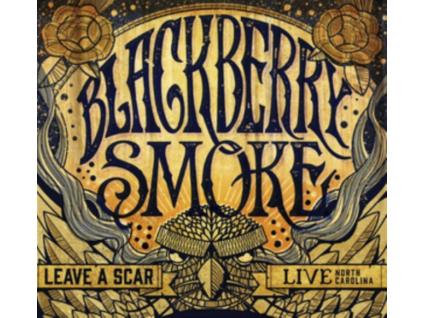 BLACKBERRY SMOKE - Leave A Scar - Live In North Carolina (DVD)